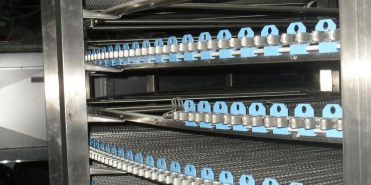 Материалы EFELE обеспечивают оптимальную работу спиральных камер шоковой заморозки