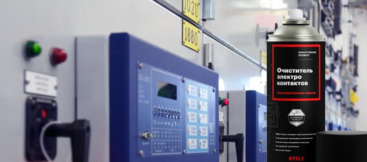 Очиститель контактов EFELE CL-547 Spray – надежная защита электрических компонентов